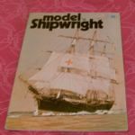 Model Shipwright number 35 model ship building book